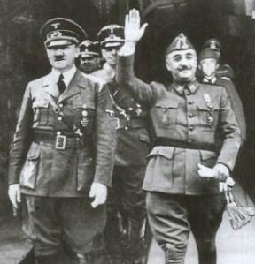 Fascistas_Franco_Hitler