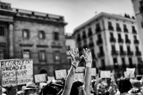 Españña. #25S. Brecha ciudadanos_instituciones