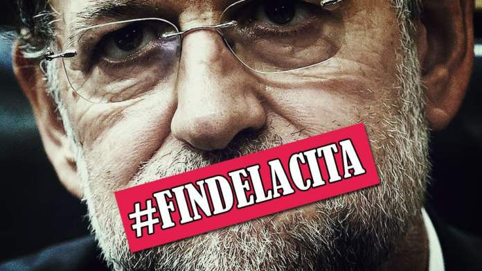 #findelacita Rajoy